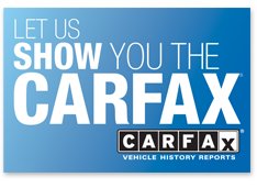 LET US SHOW YOU THE CARFAX